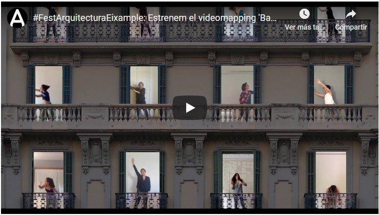 """El COAC estrena el videomuntatge """"Ballo al balcó"""""""
