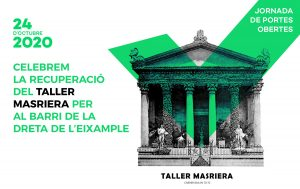 Jornada de portes obertes del Taller Masriera el proper 24 d'octubre